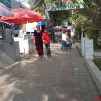 По дороге от к/т Шарк к базару, рядом с фотосалоном, Денау
