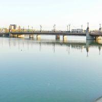 Мост через р.Кальмиус по проспекту Ильича, Донецк