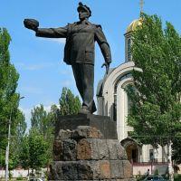 """Монумент """"Слава шахтерскому труду"""" на Шахтерской площади, Донецк"""