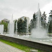 Фонтаны у здания городского совета по ул.Артёма, Донецк
