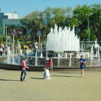 Весна, фонтан в парке им.Щербакова, Донецк