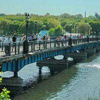 Мост через пруд в парк им.Щербакова, Донецк