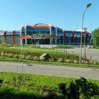 Здание аквапарка в парке им.Щербакова, Донецк