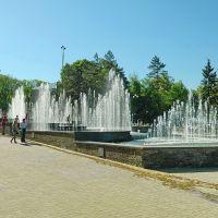 Каскад фонтанов в парке им.Щербакова, Донецк