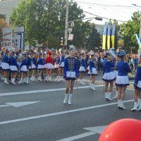 Гусары карнавального шествия в честь Дня города и Дня Шахтера, Донецк