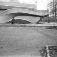 катер   низ постамента 1980 год, Жданов