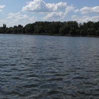 Озеро Репное, Славянск