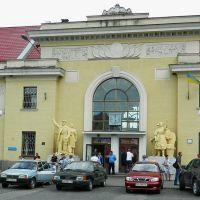 Здание вокзала ж/д станции Мукачево, Мукачево