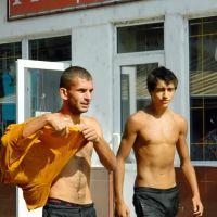 Лето, молодые закарпатцы, Мукачево