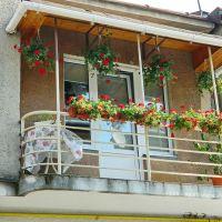 Балкончик в Старом Пассаже, Мукачево