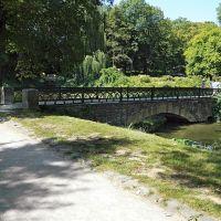 Вид на один из мостиков дендропарка Александрия, г.Белая Церковь, Белая Церковь