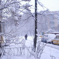 снега, Киев