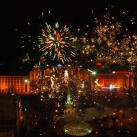 Новий рік, Киев