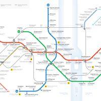 Карта метро, Киев