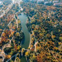 Парк Победы (вид сверху). фото из соц.сети, Одесса