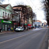 город Ровно - Старый квартал - центр города, Ровно