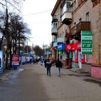 город Ровно - Центральный бульвар в 2014 году, Ровно