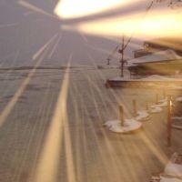 снегопад лодочная, Новая Каховка