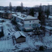 Вид на Козелец зимой, Козелец