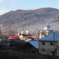 Vizhnitsa city, The Church, Вижница