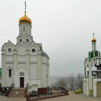 г.Днепр, храм на Монастырском острове, Днепропетровск