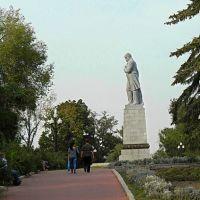 г.Днепр, памятник Т.Шевченко на Монастырском острове, Днепропетровск