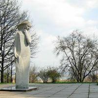 г.Днепр, Вечная невеста -- памятник студентам, погибшим в войне 1941-1945гг., Днепропетровск