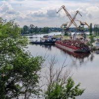 Речной порт, Новомосковск