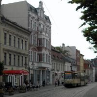 On the Hauptstrasse in Brandenburg an der Havel, Germany, Бранденбург