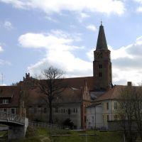 Brandenburg, Blick zum Dom, Бранденбург