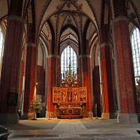 Katharinenkirche.         The        Sanctuary., Бранденбург