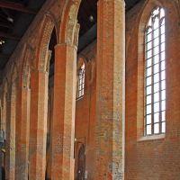 Interior of the monastery church., Бранденбург
