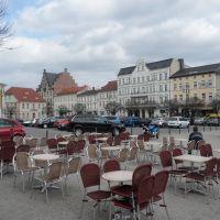 Neustädtischer Markt / Molkenmarkt - Straßencafé und Blick Richtung Osten, Бранденбург