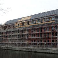 Sanierung eines weiteren Kontorhauses - Stand April 2011, Бранденбург