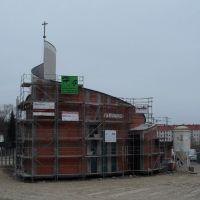 Neubau der Neuapostolischen Kirche - Stand April 2011, Бранденбург