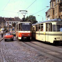 DDR-Trams + Scoda (juni 1990), Бранденбург