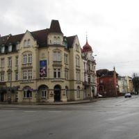 Hotel am Theater, Bahnhofstraße, Karl-Liebknecht-Straße, Котбус