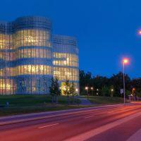 Cottbus, IKMZ, Uni, Bibliothek, Medienzentrum, Котбус