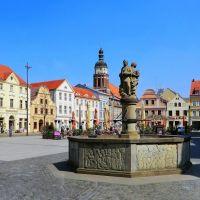 Altmarkt in Cottbus, Котбус