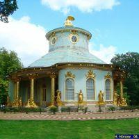 Potsdam. Das chinesische Teehaus im Park Sanssouci, Потсдам