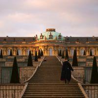 Sanssouci,το καλοκαιρινό παλάτι του Φρειδερίκου II της Πρωσσίας(μεγάλου) στην πόλη Potsdam,Schloss Sanssouci in Potsdam,Sanssouci,the summer palace of Frederick the Great, Потсдам