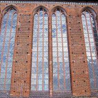 Südfassade der Georgenkirche, Висмар