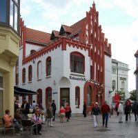Wismar, Hinter dem Rathaus, Alte Apotheke, Висмар