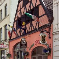 Wismar, Mecklenburger Straße, Altes Haus, Висмар