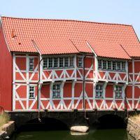 Wismar - Fachwerkhaus Runde Grube,  Gewölbe, Висмар