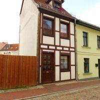 Saniertes Fachwerkhaus, Грейфсвальд