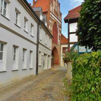 Teterow - Blick zum Rostocker Tor, Грейфсвальд
