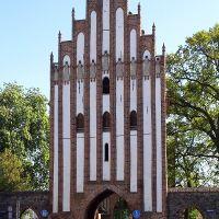 Stargarder Tor, Innentor stadtseitig, Нойебранденбург