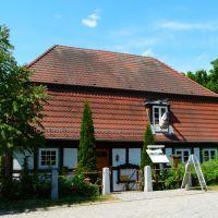 Germany_Mecklenburg_Neubrandenburg_half-timbered water mill (Lohmühle)_P1140863.JPG, Нойебранденбург