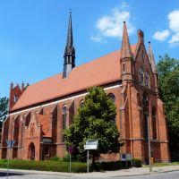 Germany_Mecklenburg_Neubrandenburg_brickstone-gothic St. Johns Church of the franciscian abbey_P1140892.JPG, Нойебранденбург